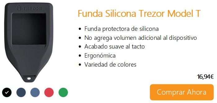 Comprar Ahora Funda Siliciona Trezor Model T