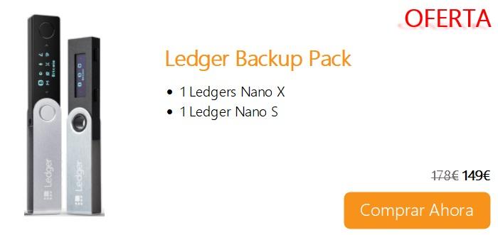 Comprar Ahora Ledger Backup Pack
