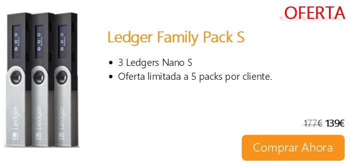 Comprar Ahora Ledger Family Pack S