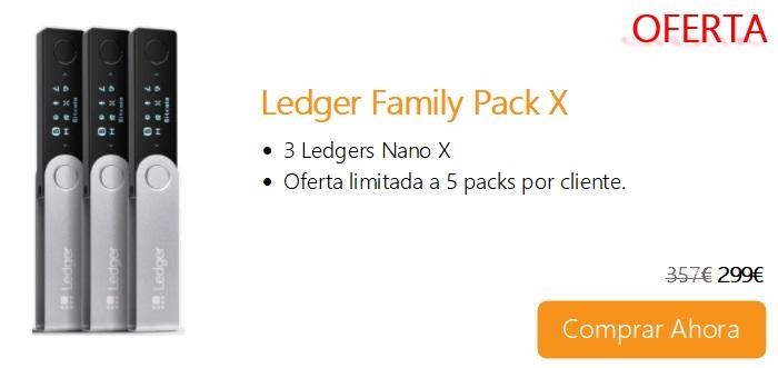Comprar Ahora Ledger Family Pack X