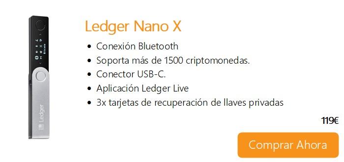 Comprar Ahora Legder Nano X