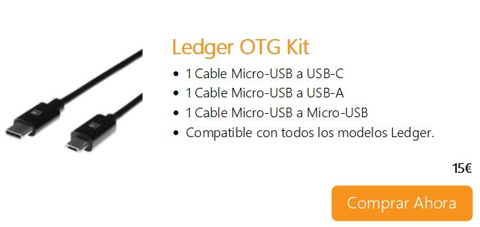Comprar Ahora Legder OTG Kit